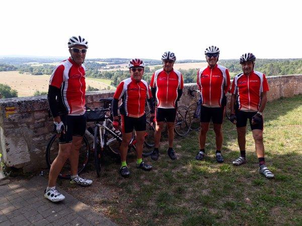 Samedi 21 août - Sortie club - 80 km de vélo