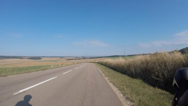 Dimanche 5 septembre - Sortie solo - 84km de vélo