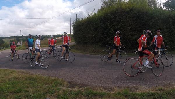 Samedi 11 septembre - Sortie club - 70 km de vélo