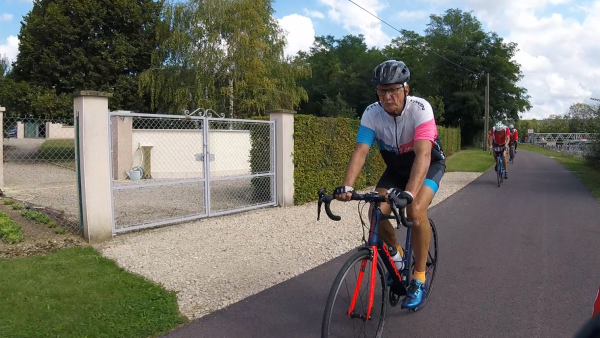 Samedi 18 septembre - Sortie club - 72 km de vélo