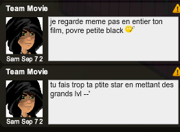 Je detterre:Team movie est raciste