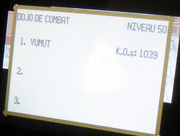 Dojo de Combat Nv.50, 1039 K.O.s consécutifs (Pokémon Emeraude)