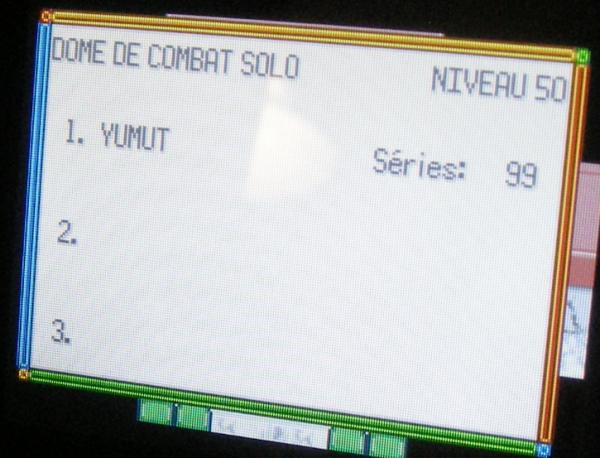 Dôme de Combat Solo Nv.50, 99 séries consécutives (Pokémon Emeraude)