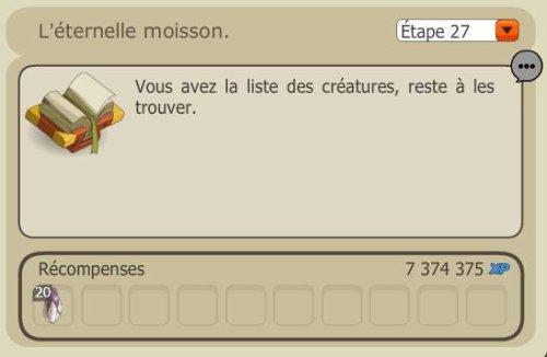 L'éternelle Moisson - Dofus Ocre