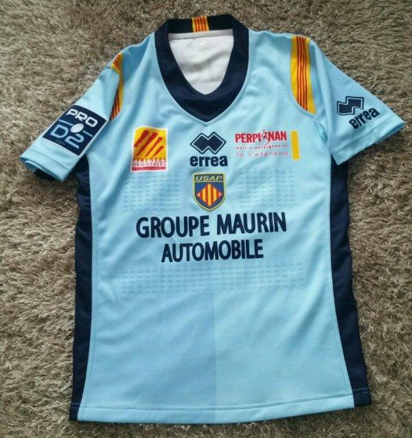 Maillot match porté par Mathieu acebes saison 2016  2017