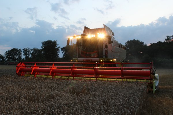 lexions 750 tera trac 9 mètres de coupe  en demo