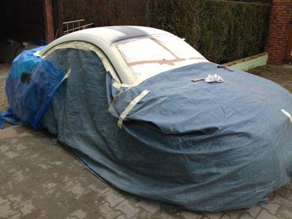 preparation pour le toit