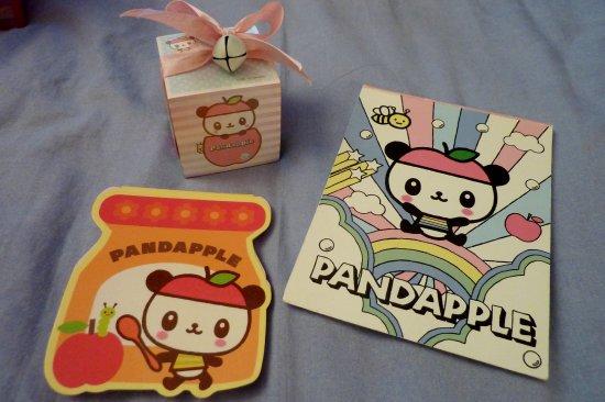 Memo pad Pandapple
