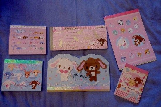 Memo pad Sugar bunnies