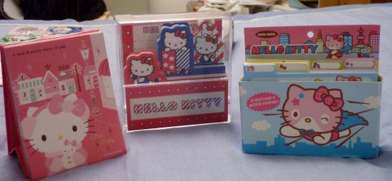 Memo Pad Hello Kitty