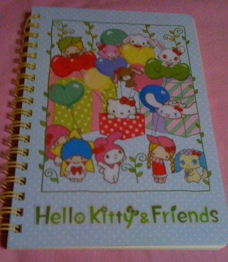 Note book Anniversary Sanrio