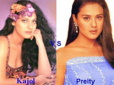Kajol vs Preity Zinta