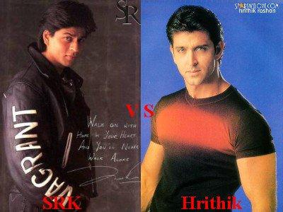 Shahrukh Khan vs Hrithik Roshan