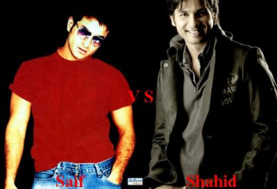 Saif Ali Khan vs Shahid Kapoor