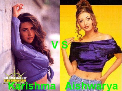 Karisma Kapoor vs Aishwarya Rai