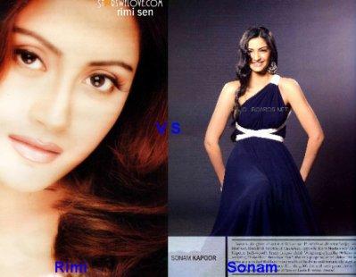 Rimi Sen vs Sonam Kapoor