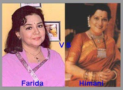 Farida Jalal vs Hivmani Shivpuri