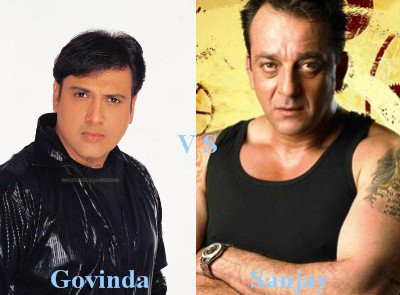 Govinda vs Sanjay Dutt