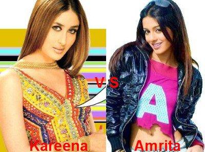 Kareena Kapoor vs Amrita Rao