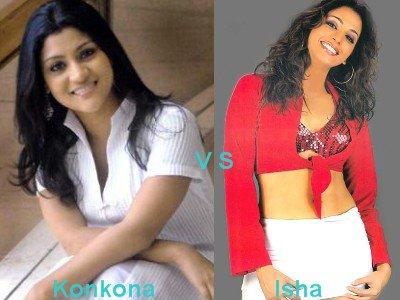 Konkona Sen Sharma vs Isha Koppikar