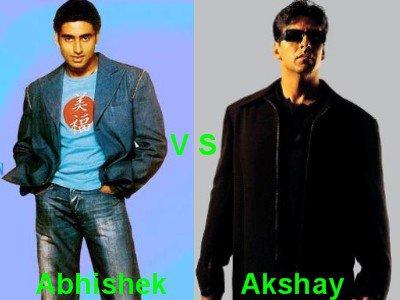 Abhishek Bachchan vs Akshay Kumar