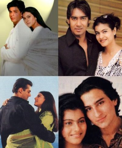 Couple Kajol
