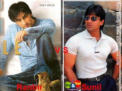 Ranbir Kapoor vs Sunil Shetty