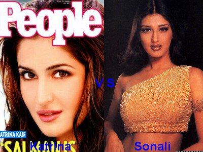 Katrina Kaif vs Sonali Bendre