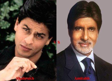 Shahrukh Khan vs Amitabh Bachchan