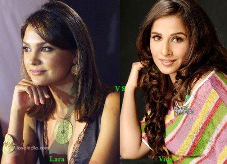 Lara Dutta vs Vidya Balan