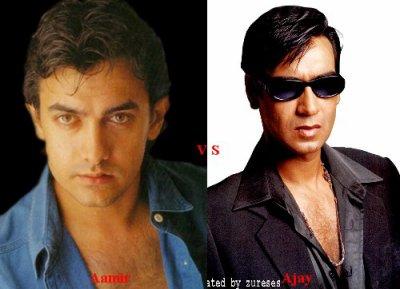 Aamir Khan vs Ajay Devgan