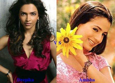 Deepika Padukone vs Amisha Patel