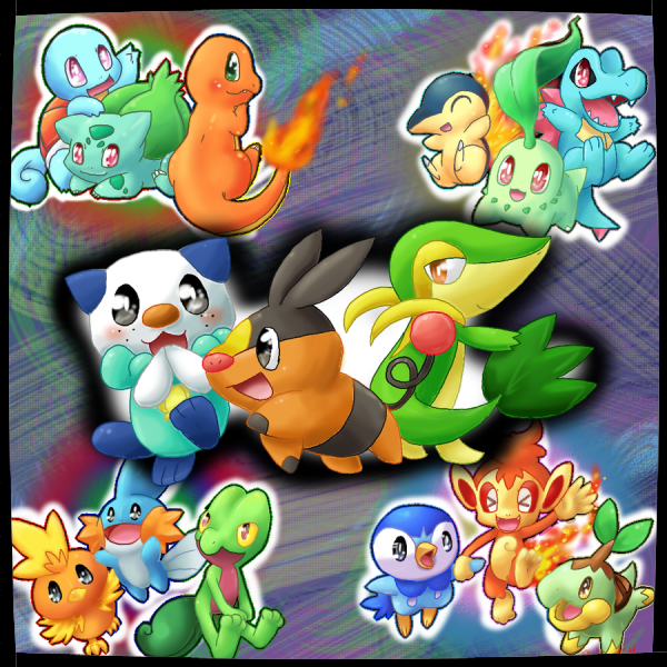 Pokemon starter !
