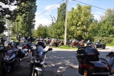 photo balade moto la sabotine a évregnies 2010