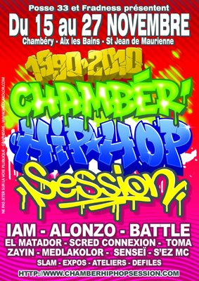 CHAMBER'HIP HOP SESSION