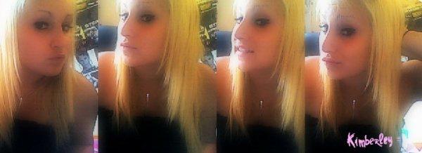 Kimberley.  18Ans.  o9. Célibataire (♥)