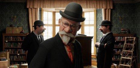 29. Toby Jones, dans 'Les Aventures de Tintin' (2011)