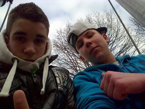 Moi et Marc-Antoine