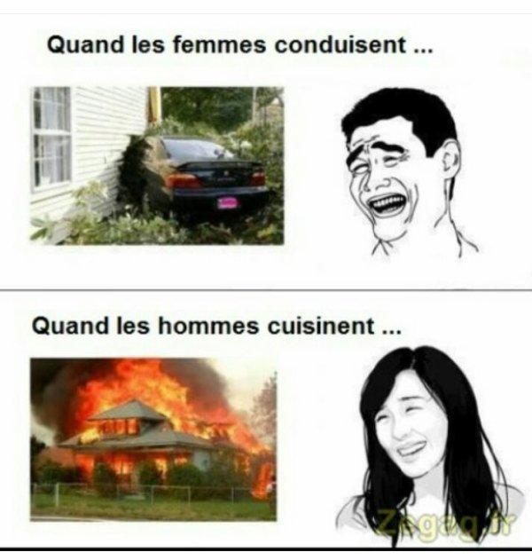Femmes VS Hommes