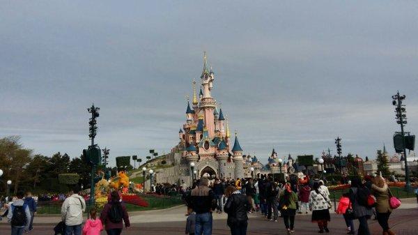 J'étais à Disneyland Paris !