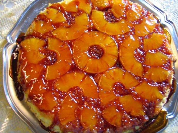 gâteau d'ananas a l'antillaise