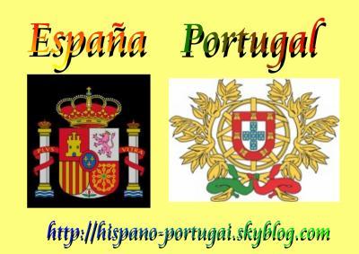 Armoirie de L'Espagne et du Portugal