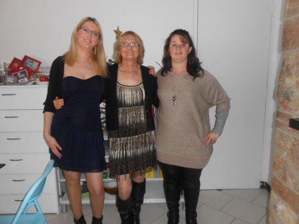moi ma mére et ma soeur