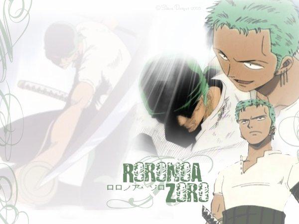 Présentation des personnages du manga Roronoa Zoro