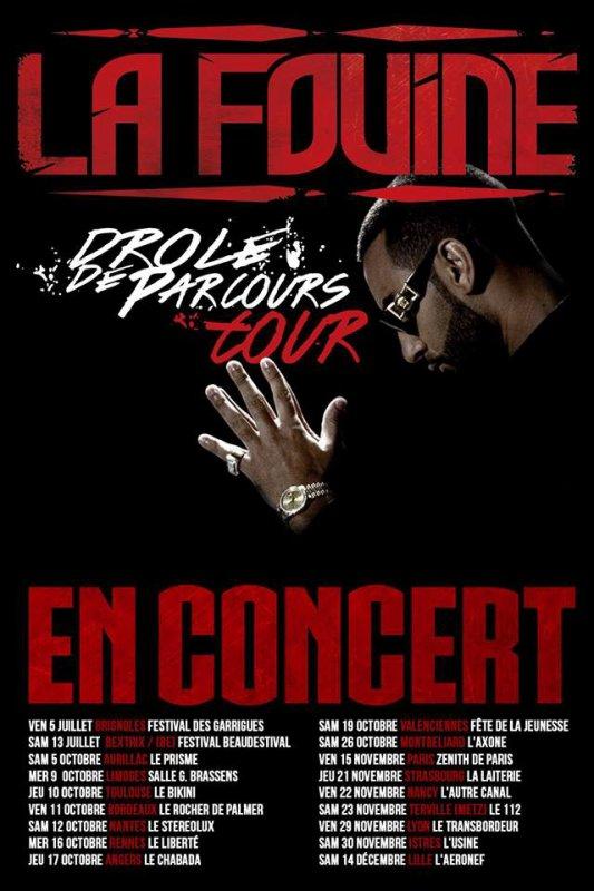 D.D.P. Tour 2013 : Dans Toute La France Et d'autres Dates à Venir