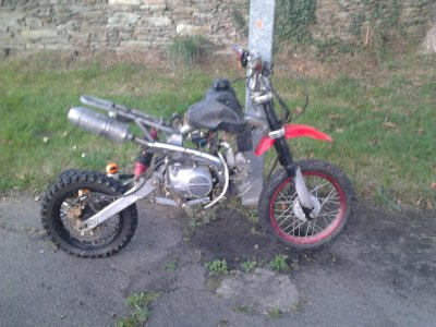Dirt Bike sans carenage