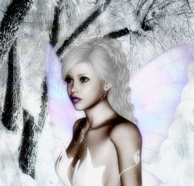 fée blanche des bois