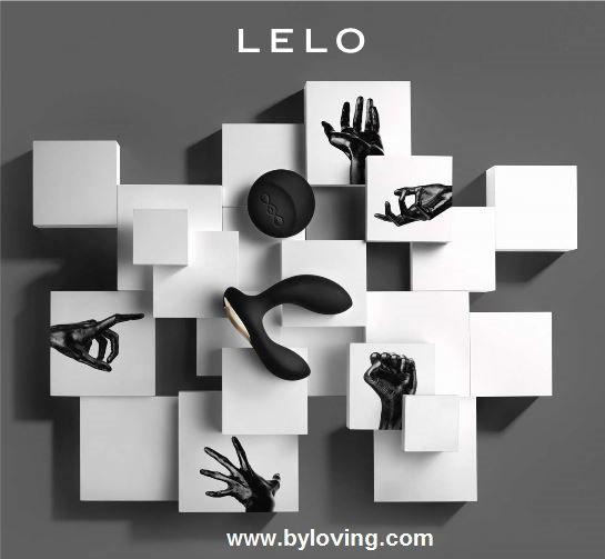 Lelo Hugo, Lelo Bruno, vibromasseur anal à By Loving Lovestore