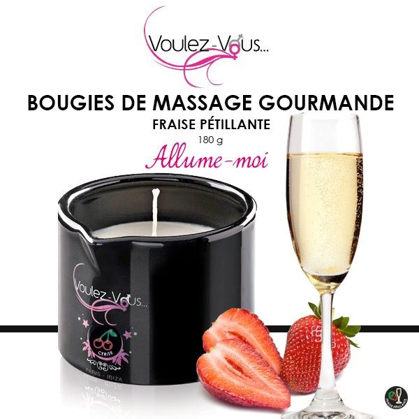Bougie de massage comestible au Love Store By Loving