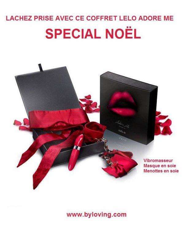 Coffret Noël Lelo Adore Me dans vos Love Stores By Loving